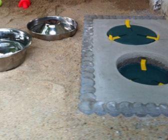 drinkbakverwarming honden maken